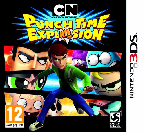 Cartoon Network : Punch Time Explosion (Nintendo 3DS) [Importación in