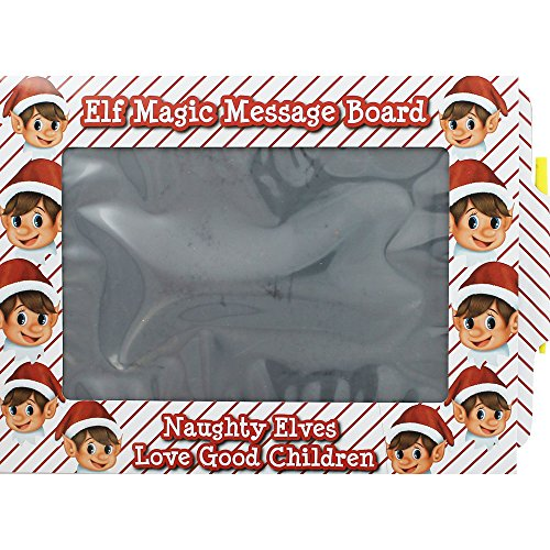 Elves Behavin' Badly Elf Magic Message Board Note to Santa Christmas Accessory