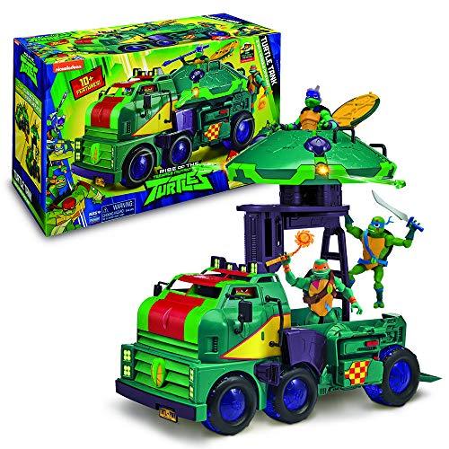 TMNT- ROTMNT-Camion de Combats Turtle Tank, TUAB6, Multicolore