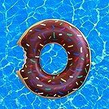 BigMouth Inc Riesen Schokoladen Krapfen Pool Schwimmen -