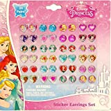 Disney Princess Earrings -24 Pair Sticke...