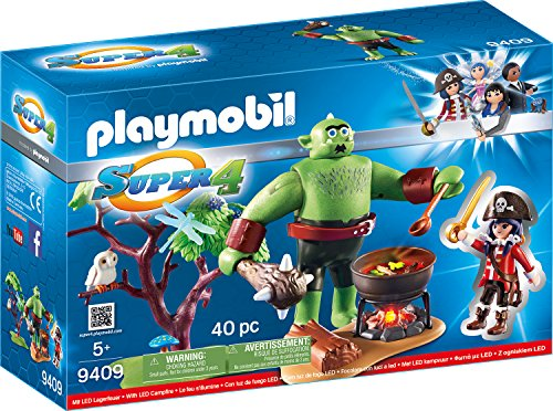 Playmobil 9409 - Riesen-Oger mit Ruby Spiel -