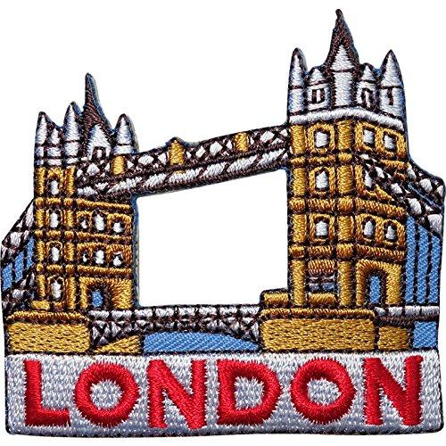 Puente torre Londres bordado bolsa hierro/para coser