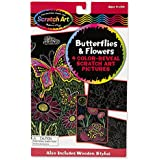 Melissa & Doug Color Reveal Pictures - Butterflies and Flowers, Multi Color