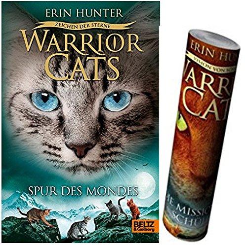 Warrior Cats - Zeichen der Sterne. Spur des Mondes: Staffel IV, Band 4 + Warrior Cats Poster