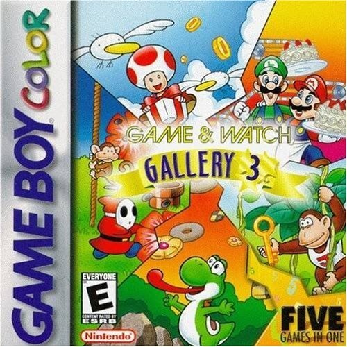 Game & Watch Gallery 3 by Nintendo (Game Watch Gallery)