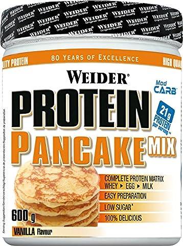 Weider Protein Pancake Mix Vanilla 715g Pack