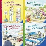 Ravensburger Mini-Bilderspaß 45 - Wer macht was? Spannende Berufe (4er-Set)