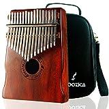 Moozica Koa tono legno 17chiavi Kalimba finger Marimba, alta qualità professionale pianoforte strumenti musicali giocattolo