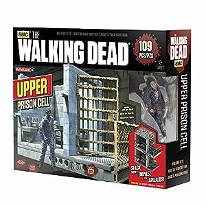 AMC The Walking Dead MC Farlane – Superior Célula de la prisión 14607 – 96 Piezas Cárcel célula con 2 Figuras