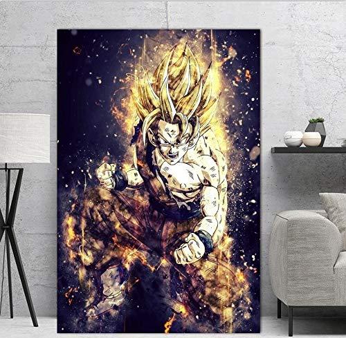 Geiqianjiumai Hauptdekoration Anime Charakter Bild wandaufkleber Kunst ölgemälde rahmenlose malerei 50x70 cm
