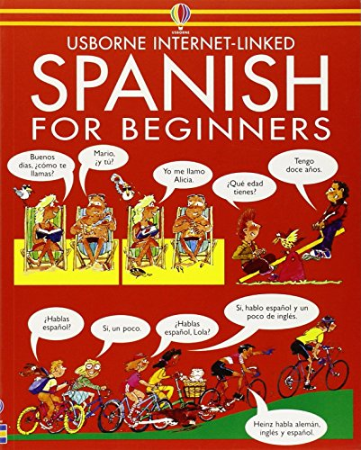 Spanish for Beginners (Usborne Language Guides) by Angela Wilkes (7-Aug-1987) Paperback