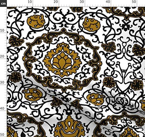 Stoffe Renaissance Kostüm - Kostüm, Italienisch, Renaissance, Tudor, Porträt Stoffe - Individuell Bedruckt von Spoonflower - Design von Bonnie Phantasm Gedruckt auf Bio Musselin