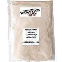 Carbonate de calcium pur - marbre de Botton - Poudre fine - Charge Inerte Résine Gessi - Édition - 0-600 microns…