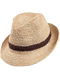 Christys Hats Bude Straw Trilby - Natural