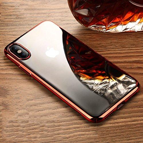 Für iPhone 5.8 Zoll Fall, Für iPhone X Ultra-dünne harte PC-Schutzhülle (5,8 Zoll) ( Size : Ipxg1364r )
