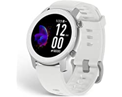 Amazfit GTR 42mm Montre Connectée Femme Homme, Tracker d'Activité Smartwatch Sport, 5 ATM Etanche Montre Intelligente GPS Int