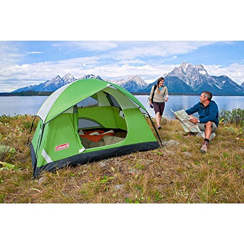 Drake House Camping Waterproof Backpacking Tent for Couples (Multicolour)
