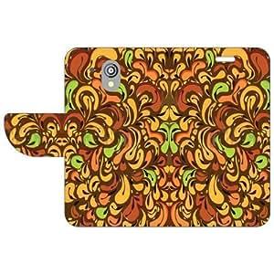 HTC Desire 526G Flip Cover - Floral Designer Cases