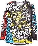 O'Neal Element Kinder Jersey WILD Multi Moto Cross Mountain Bike Enduro Trikot MX MTB, 0025W-9, Größe Large