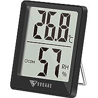 DOQAUS Thermometer Innen, Digitales Thermo Hygrometer Innen, Luftfeuchtigkeitsmessgerät, Hydrometer Feuchtigkeit mit…