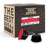 Note D'Espresso Amabile Miscela di Caffè Torrefatto in Capsule Compatibili con Sistema Dolce Gusto, 336 g, 48 x 7 g