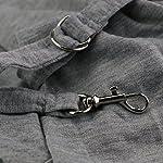 PENIVO Pet Dogs Sling Carrier Bag Grey Striped Soft Comfortable Hands-free Adjustable Shoulder Bag for Dog / Cat Bicycle… 17