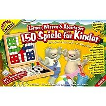 Lernen, Wissen & Abenteuer. 150 Spiele für Kinder. CD-ROM für Windows ab XP.