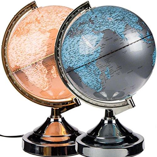 Bada Bing Globus Leuchtglobus Touch Lampe 3 Stufen dimmbare Tischlampe