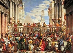 Clementoni - Puzzle - Veronese: Nozze di Cana
