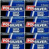 30 Cuchillas de afeitar Polsilver - Super Iridium
