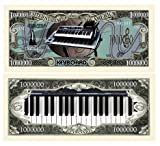 Set Of 100 Keyboards Million Dollar Bill