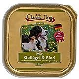 Classic Dog | Schale Geflügel & Rind | 20 x 150 g