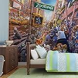 Walt Disney Zoo Mania Papier Peint Décor Forwall AF3556P8 (368cm x 254cm) Murale Art Image
