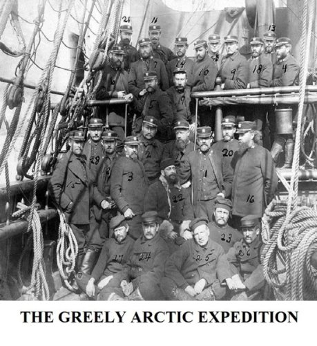 The Greely Arctic Expedition (English Edition) (Greely-expedition)
