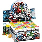 12 x Avengers Assemble Party Bubble Tubs with Maze by Marvel