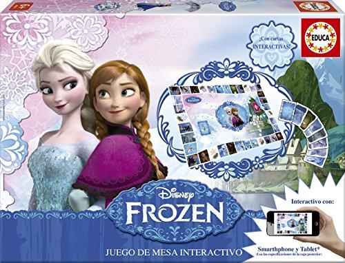 Educa games-Frozen, Juice Table Interactive (16219)