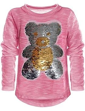 BEZLIT - Blusa - Cuello redondo - Manga Larga - para niña rosa 14 años