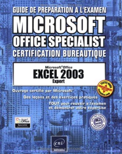 Excel 2003 Expert par Corinne Hervo, Collectif