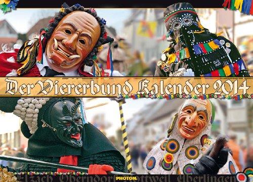 DER VIERERBUND Kalender 2014 - Hexe Themen Kostüm