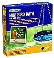 Gardman A04376 Robin Mosaic Bird Bath
