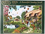 Falcon de Luxe - A Beautiful Sunday Stroll Jigsaw Puzzle (1000 Pieces)