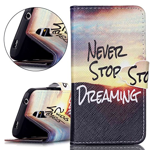 Custodia Apple iphone 5C Book Style design portafoglio Wallet CASO,Pelle PU Flip protettivo Pocket Case Cover per iphone 5C(retr¨° fiore) mai smettere