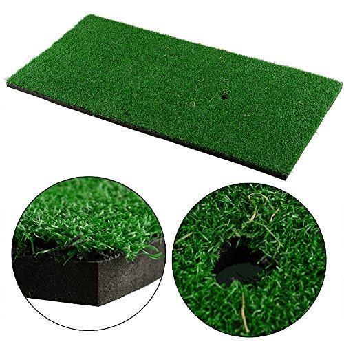 Forfar Golf Mat tapis de golf pour arrière-cour tapis de pratique Nylon activité tranquillement