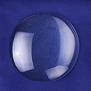 50mm Round Flat Back Crystal Clear Glass Cabochon 10pcs/lot High Quality
