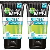 Garnier Oil Clear Facewash - Oil Control Deep Cleansing Facewash For Men, 150gm (Pack of 2)