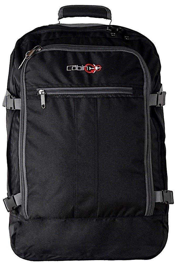 CABIN GO Mochila cod. MAX 5540 equipaje de mano/cabina de viaje, 55 x 40 x 20 cm, 44 litros de vuelo IATA aprobados/EasyJet/Ryanair