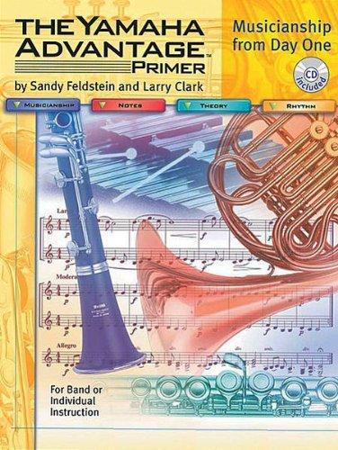 PT-YBM004-20 - The Yamaha Advantage Primer - Alto Saxophone/Baritone Saxophone by Sandy Feldstein (2002-01-01)