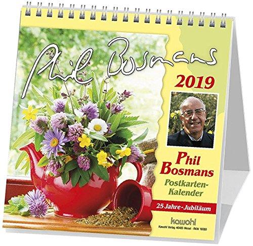Phil Bosmans Postkartenkalender 2019: Jubiläums-Postkartenkalender mit Texten von Pater Phil Bosmans