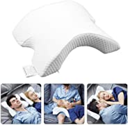 Memory Foam Pillow, Arched Pillow, Romantic Couple Sleeping Pillow, Slow Rebound Pressure, Anti-Hand Numb & Anti Snore